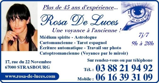 Rosa De Luces Voyante à Strasbourg