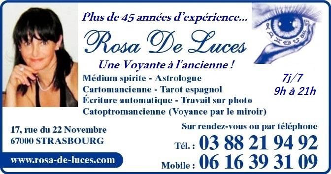 Rosa De Luces Médium Voyante, Strasbourg.