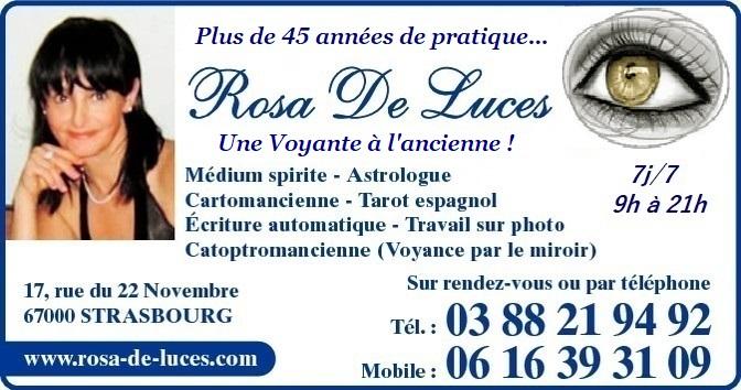 Madame Rosa De Luces Médium Voyante Cartomancienne Strasbourg